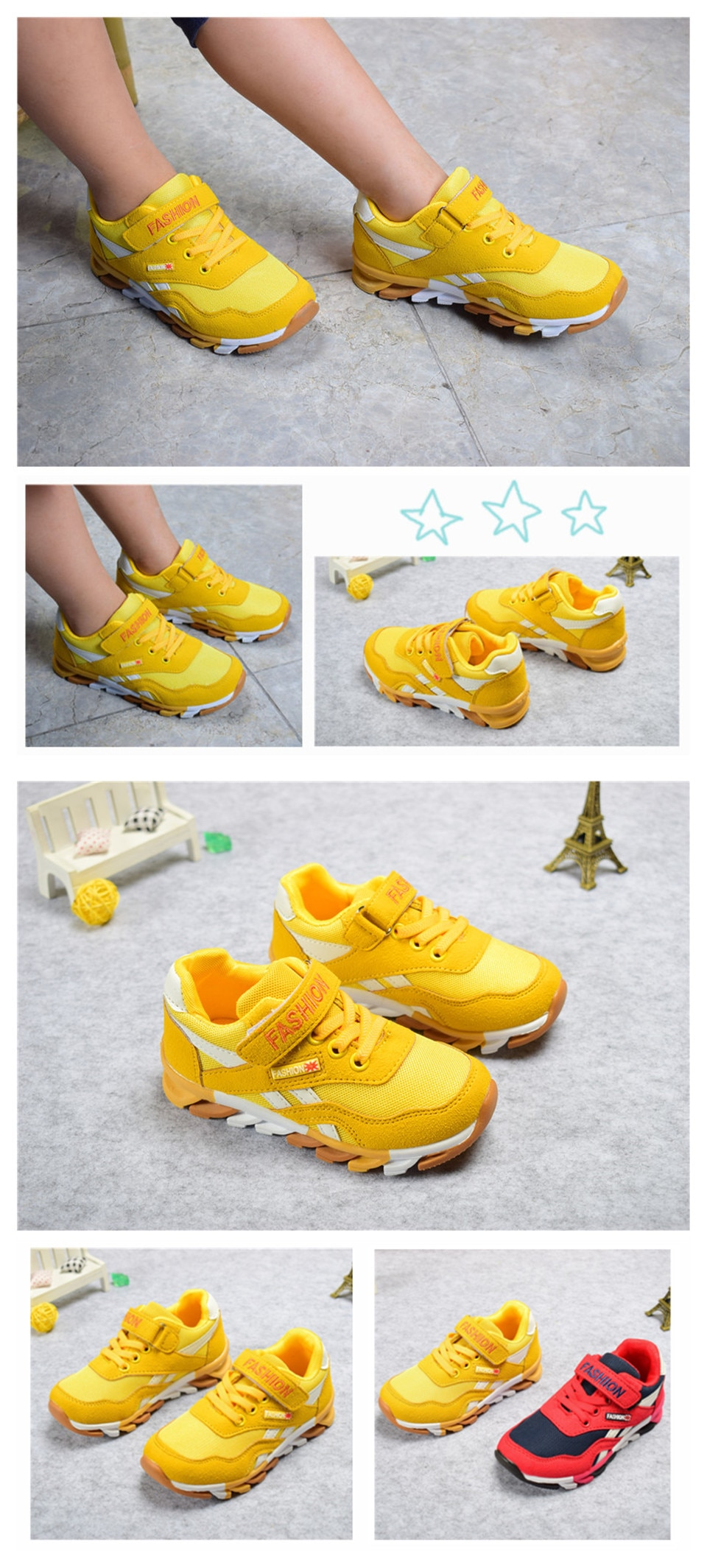 Breathable Running Shoes for Boys